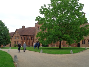 Entrance to Hatfield House from the rear