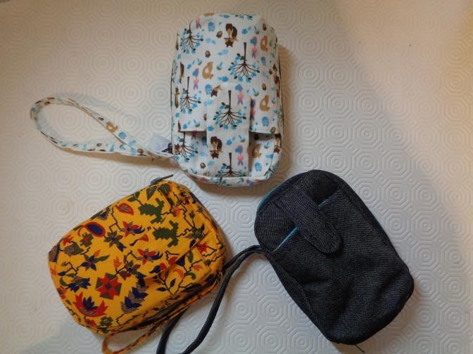 A clutch of bags