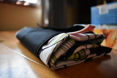 Folded tote